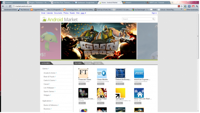 Android Web Store