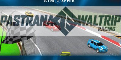 """Atmosphir Poster, showcasing the """"Racing Simulator""""."""
