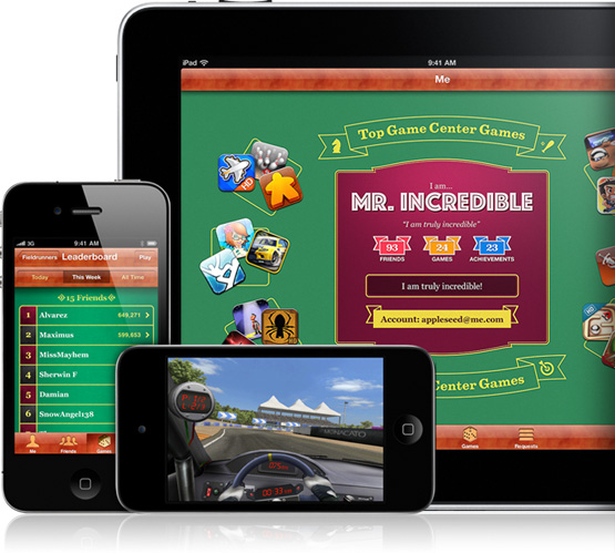 Game Center Devices