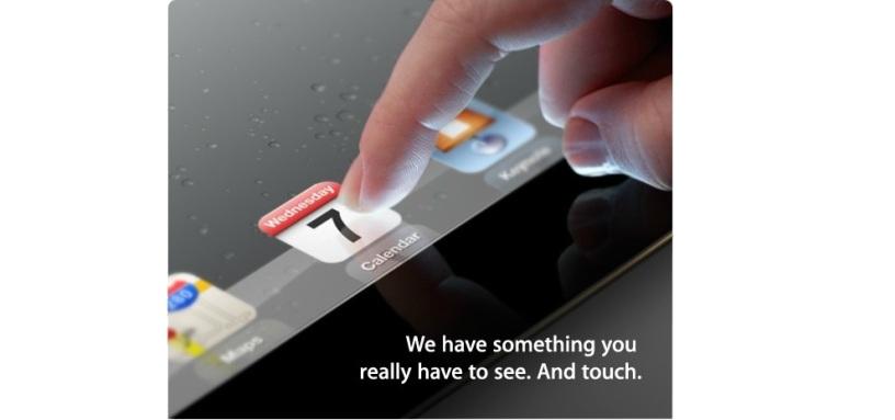 Apple's 2012 March Invitation Image