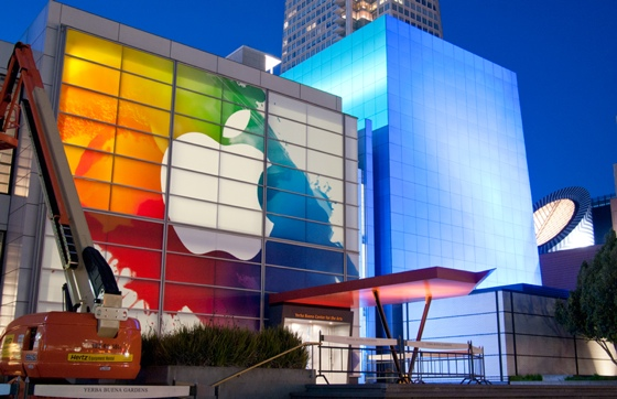 Apple iPad 3 Event at the Yerba Buena Center for the Arts