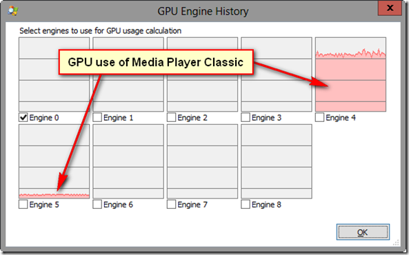 how to see what gpu is being used
