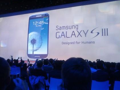 Samsung Galaxy III event