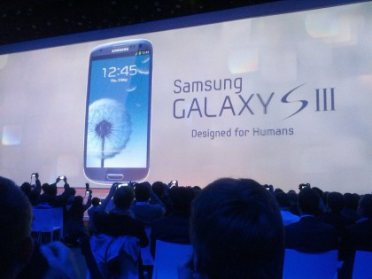 Samsung Galaxy III event