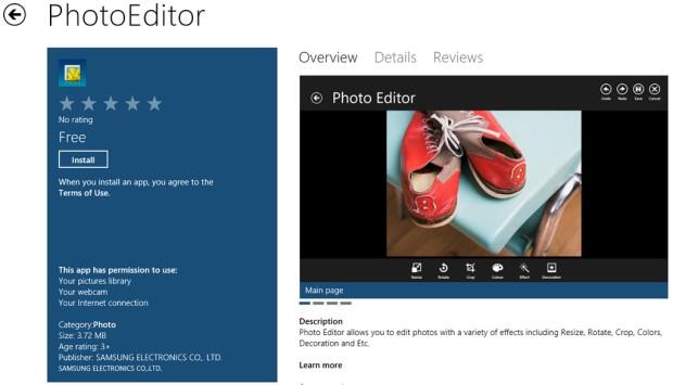 Samsungs OEM Apps in Windows 8 Store – McAkins Online