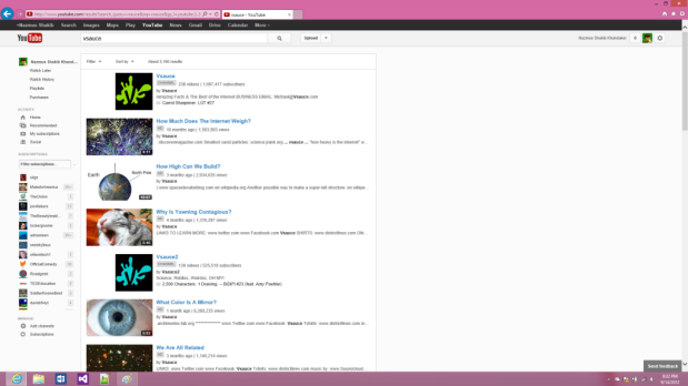 YouTube's new redesign