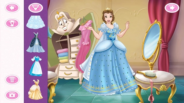 Dress up games disney