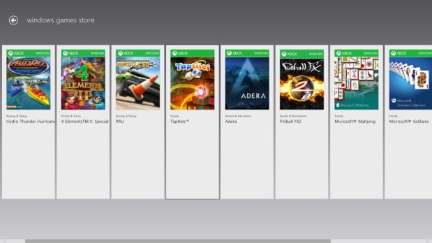 Windows Games Store