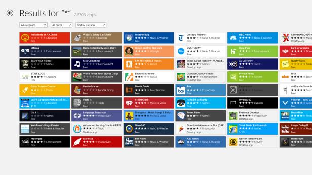 App Count 2012