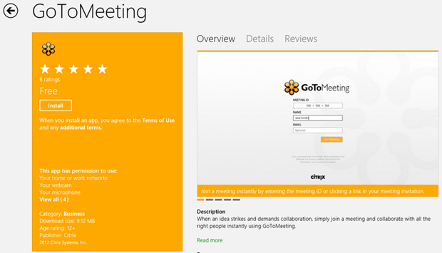 Citrix Gotomeeting App Now In The Store Mcakins Online