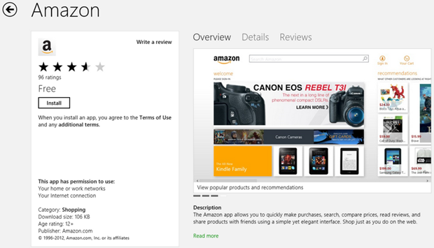 The Much Awaited Amazon App is now in the Store! – McAkins