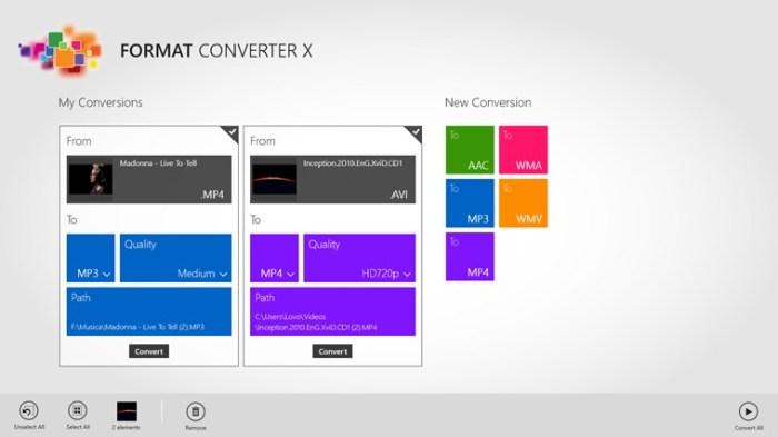 Format Conveter X 1