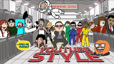 youtube rewind 2012 hero IIHIH
