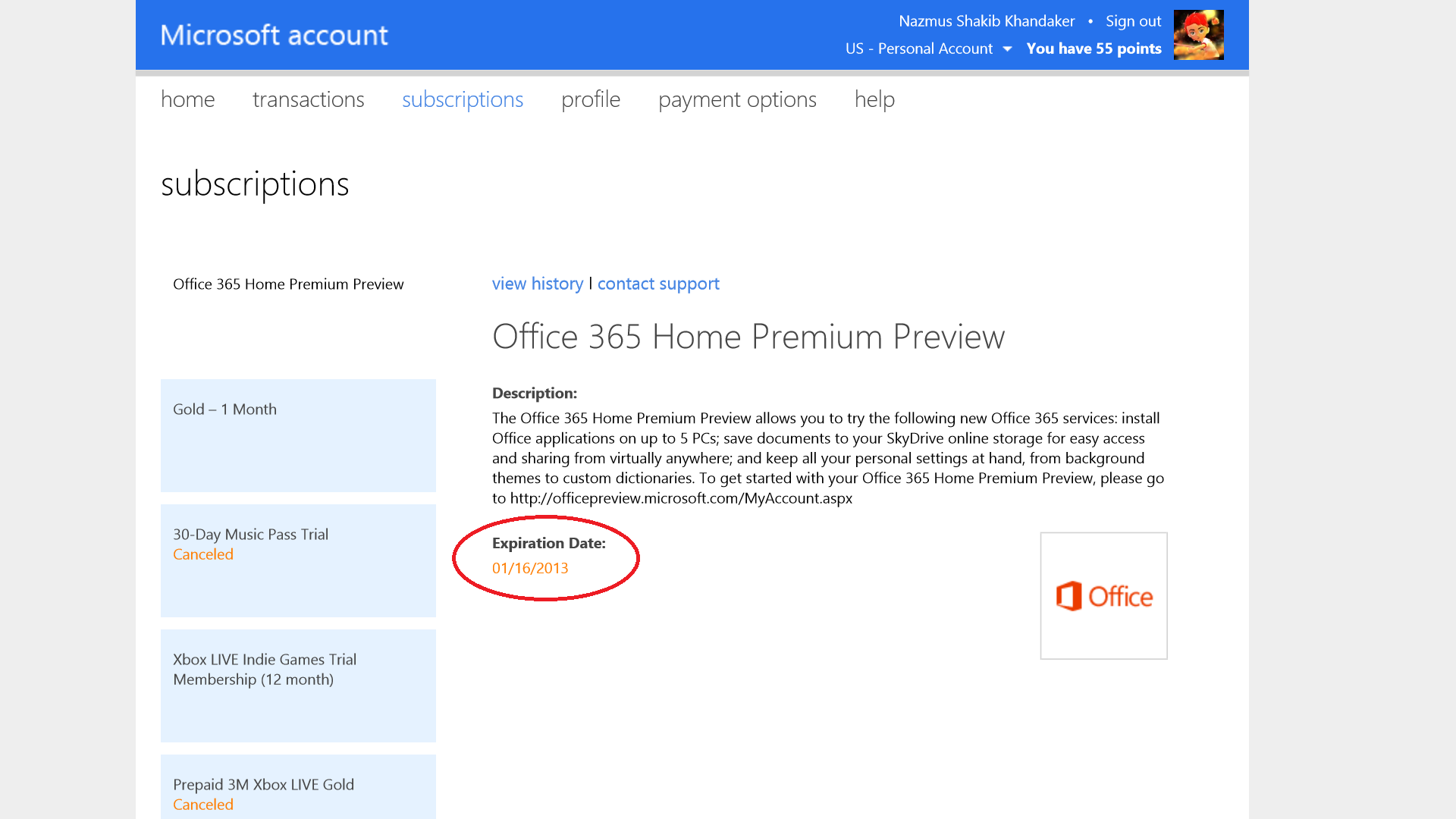 Office 365 Preview Expires on January 16, 2013 — Upgrade Now ...