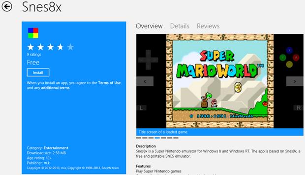 Snes8X–The Nintendo Emulator for your SMB Nostalgia