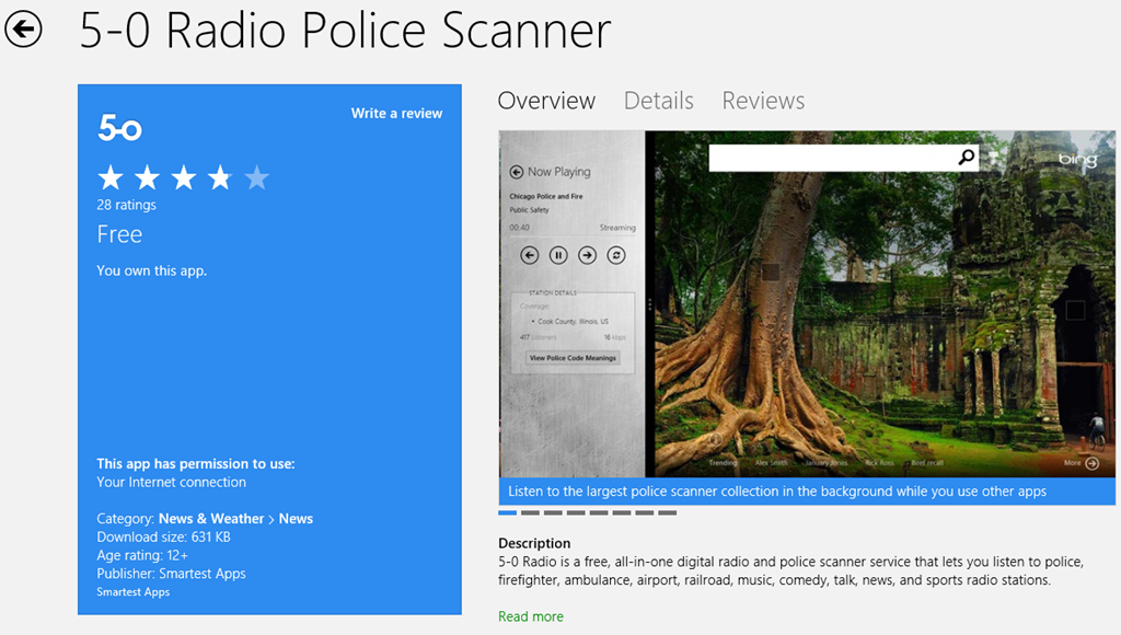 5-0 Radio Police Scanner App in the Store for old and new Radio