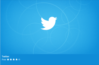 Twitter Windows app logo