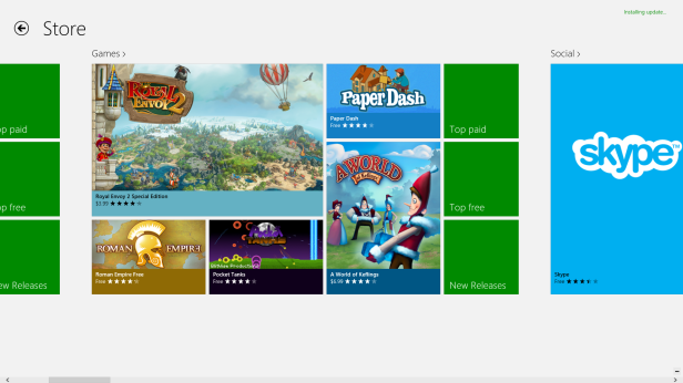Windows Store Games w Pocket Tanks