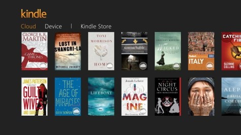 Kindle for Windows 8