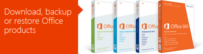 Install Office Header