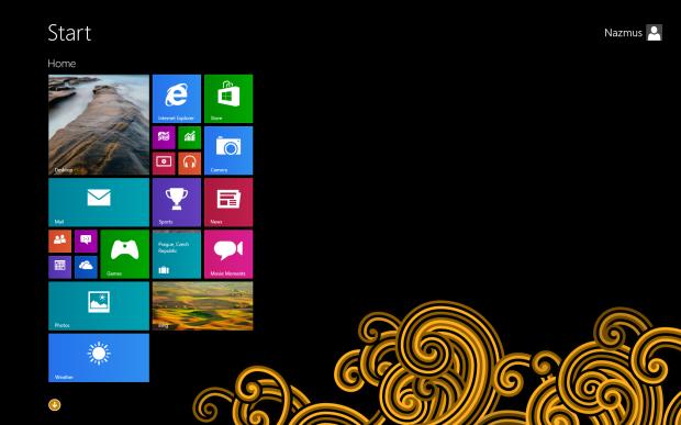 Windows 8.1 Orange Tattooo