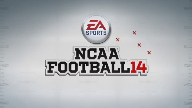 NCAA Football 14 logo