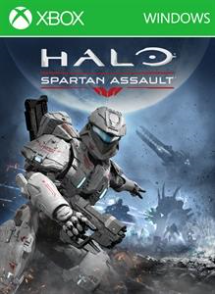 Halo Spartan Assult Cover