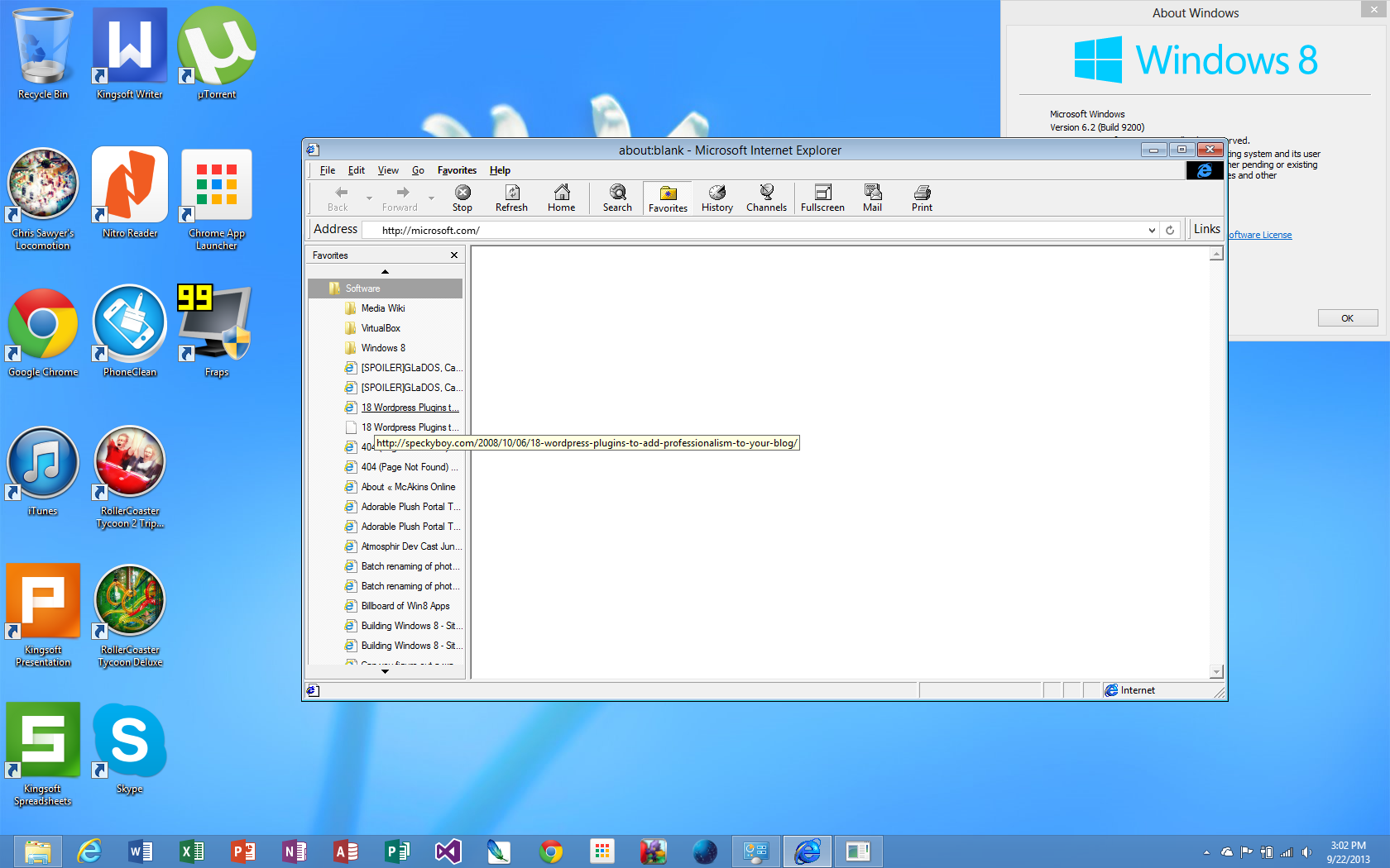 Let's Run Internet Explorer 4 on Windows 8 – McAkins Online