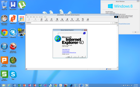 IE4 About