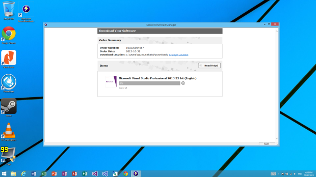 Accuring  and Activating VS 2013 through Dreamspark (6)