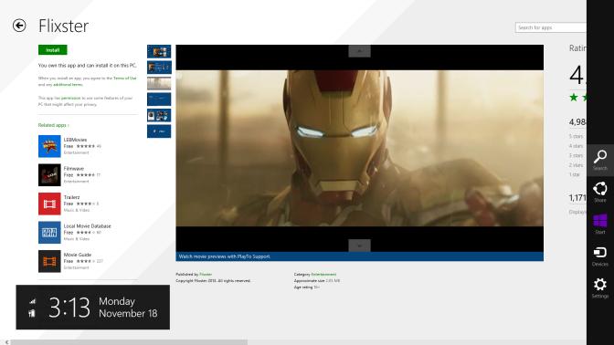 Flixter App Landing Page