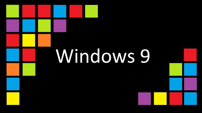 Windows 9 Artwork