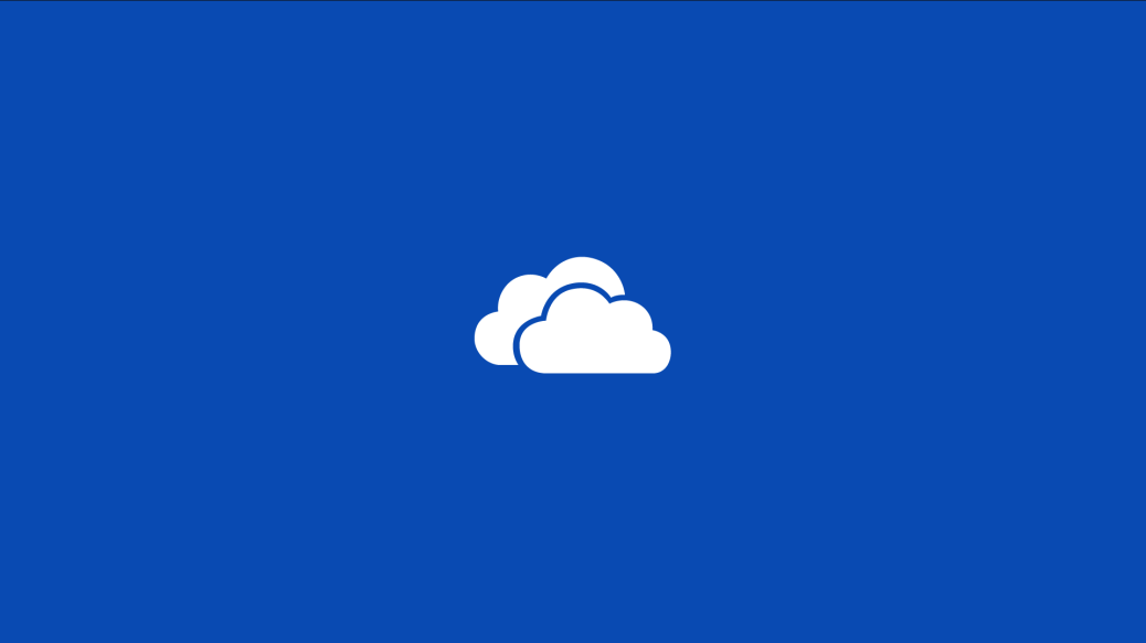 OneDrive Splash Screen
