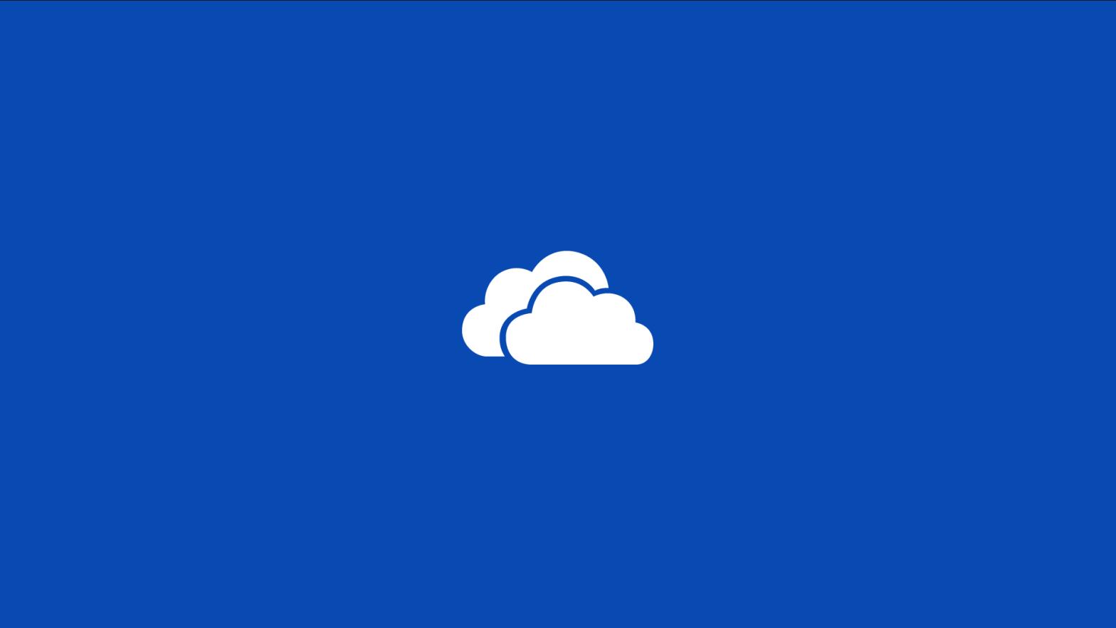 OneDrive Splash Screen