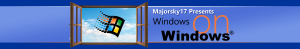 Channel Art - Windows on Windows XP