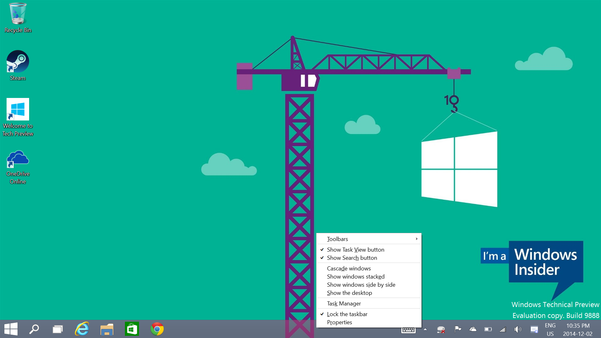 Windows 10 Will Bring Touch Friendly Context Menus to the