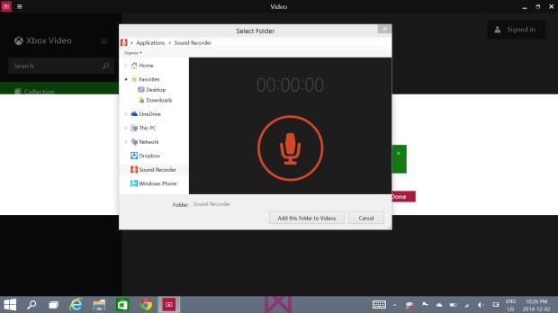 File Picker changes in Windows 10 (3)