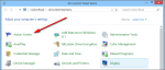 Fig.3: Win8 Action Center in Control Panel