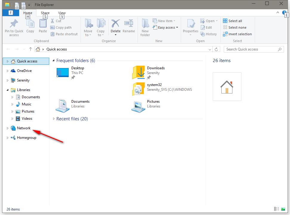 Network is back in Windows 10 JTP – McAkins Online