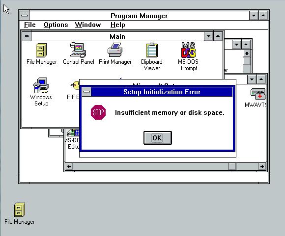 setup_error 3.1