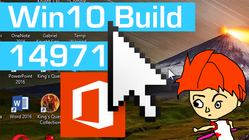 Hands on with Windows 10 Build 14971 – Office Hub, ePub Reader in